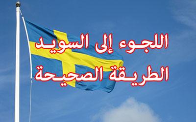 اللجوء إلى السويد – الطريقة الصحيحة