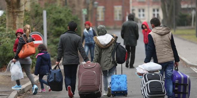 ألمانيا تمنح 670 يورو شهريا لكل طالب لجوء